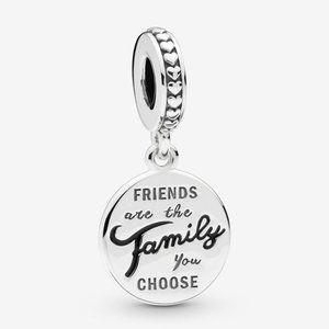Pandora Friends Are Family Dangle Charm